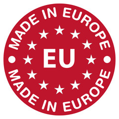 Made in Europe, red