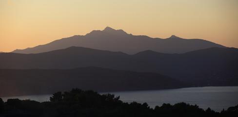 Toscana,isola d'Elba,monte Capanne