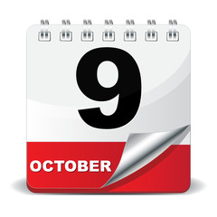 9 OCTOBER ICON