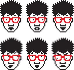 Pixel People Four