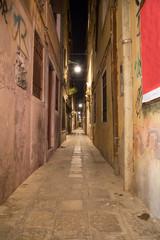 Narrow Allys in Venice at Night