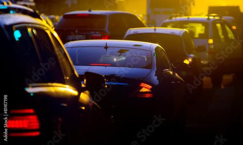 Traffic jam - 81417198