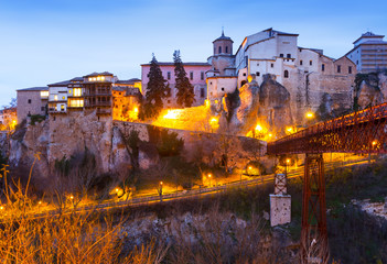 dawn view of   Cuenca