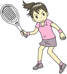 テニス 女性