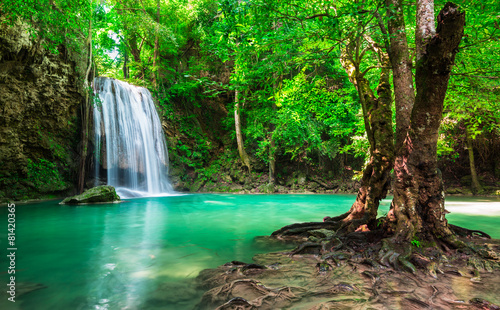 Erawan Waterfall at Thailand National Park