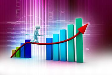 Business success diagram