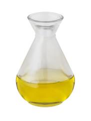 Öl auf weißem Hintergrund