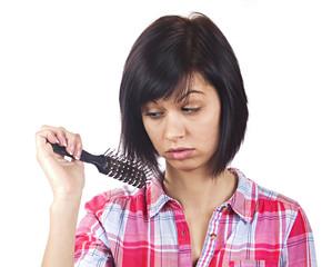 Hair examining