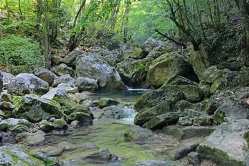 Kokoska river, Crimea
