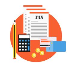 Paying tax