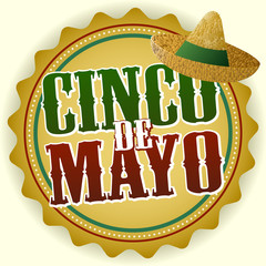 Cinco de Mayo Badge