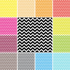 Chevron Pattern Set