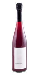 Rotwein in Flasche