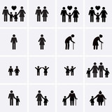 Family Icons - 81430372