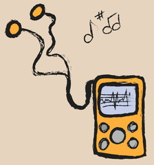 doodle media mp3 player