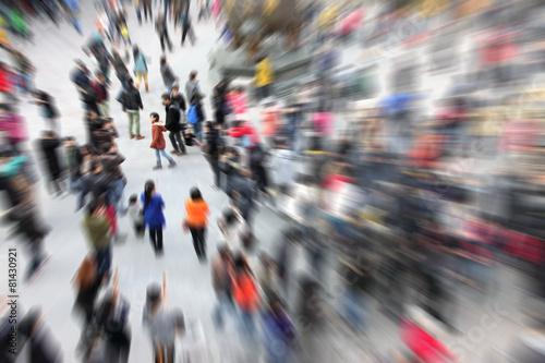 Leinwandbild Motiv Crowd People