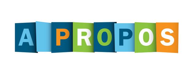 "Icône ""A PROPOS"""