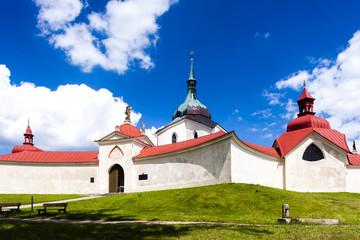 Zelena Hora near Zdar nad Sazavou, Czech Republic