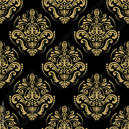 Damask Seamless Vector Pattern © Fine Art Studio