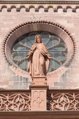 Freiburg Cathedral exterior