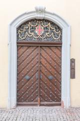 Freiburg Old Town Doorway
