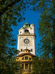 Müllersches Volksbad München - Turm und Eingangsbereich