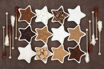 Brown and White Sugars