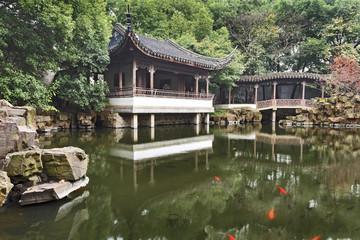 China Suzhou Garden Temple