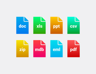 Business File Icons