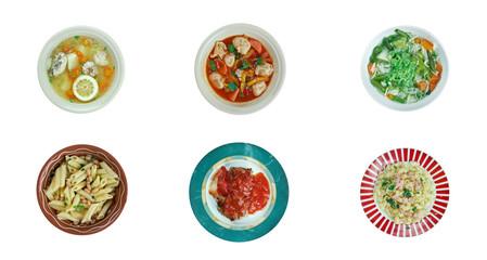 Italian traditional  cuisine