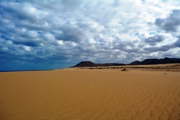 Dunes Of Corralejo, Fuerteventura, Canary Islands, Spain