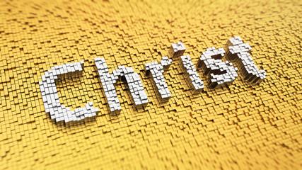 Pixelated Christ