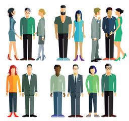 Personen und Gruppen