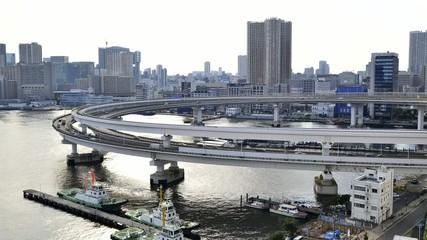 Bay Area in Tokyo, Japan.