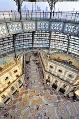 Milano Galleria Vittorio Emanuele dall'alto