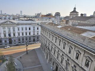 Milano Palazzo Marino Piazza della Scala