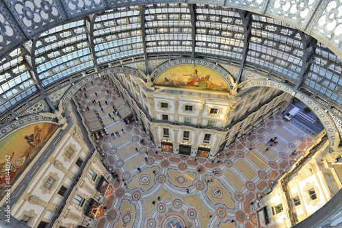 fototapeta na ścianę Milano Galleria Vittorio Emanuele dall'alto
