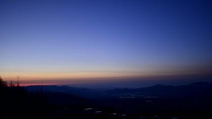 富士山五合目からのご来光