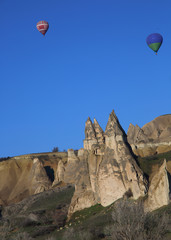 Ballons in Kappadokien