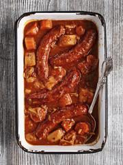 rustic sausage casserole