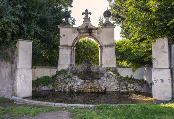 Fontana di Villa Pamphili