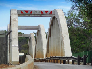 bridge over Limpopo River