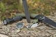 Leinwanddruck Bild - essential survival equipment