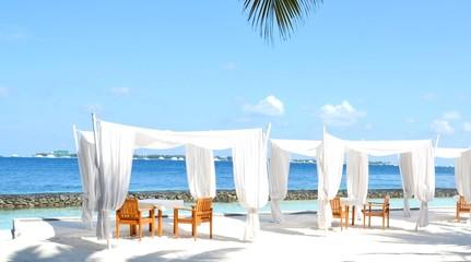 beach pavillons
