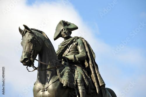 Staande foto Berlijn Friedrich II von Preußen, der Große, der Alte Fritz, Berlin