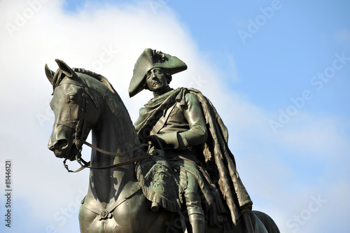 Fotobehang Berlijn Friedrich II von Preußen, der Große, der Alte Fritz, Berlin