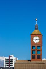 Torre do relógio vertical