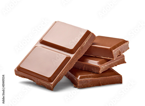 Foto op Plexiglas Dessert chocolate bar candy sweet dessert food