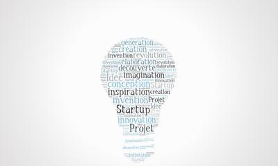 nuage de mots création startup