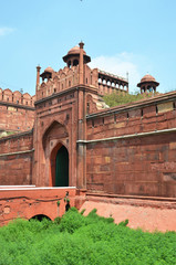Red Fort (Lal Qila). World Heritage Site. Delhi, India